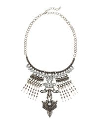 H&M | Metallic Rigid Necklace | Lyst