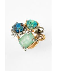 Alexis Bittar | Multicolor 'Elements - Muse D'Or' Cluster Ring | Lyst