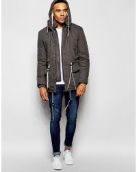 Native Youth | Brown Hooded Explorer Jacket for Men | Lyst