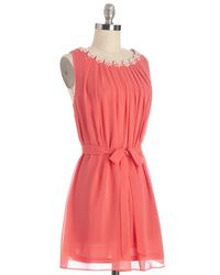 Ark & Co. - Pink Pop The Question Dress - Lyst