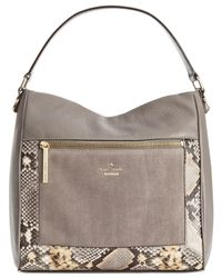 kate spade new york | Gray Chatham Lane Harris Tote | Lyst