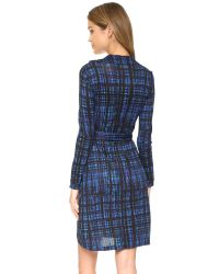 Diane von Furstenberg - Blue New Jeanne Two Wrap Dress - Lyst