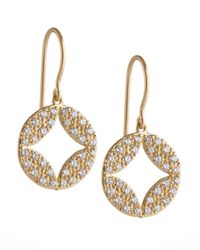 Jamie Wolf - Metallic Aladdin 18k Pave Diamond Earrings - Lyst