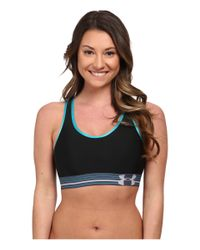 Under Armour | Black Ua Heatgear® Alpha Bra | Lyst
