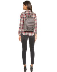 Ash | Gray Domino Small Backpack - Elephant | Lyst