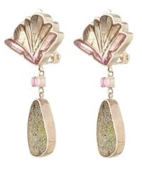 Stephen Dweck | Pink Watermelon Tourmaline Earrings | Lyst