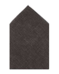 BOSS - Brown 'pocket Square 33 X 33' | Linen Pocket Square for Men - Lyst