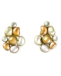Vaubel | Multicolor Connect Shape Clip-on Earrings | Lyst