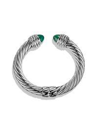 David Yurman - Metallic Cable Classics Bracelet, 10mm - Lyst