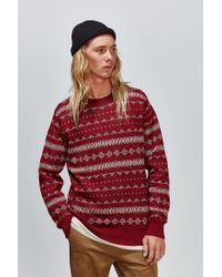 Obey - Purple Jumper for Men - Lyst