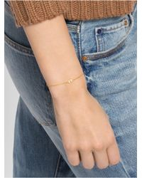 BaubleBar | Metallic Chevron Bracelet | Lyst