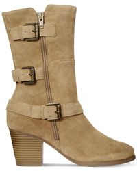 Easy Spirit - Brown Kortina Suede Boots - Lyst