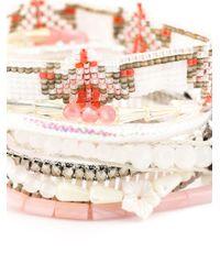 Hipanema | White 'moorea' Bracelet | Lyst