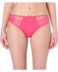 Fantasie | Pink Rebecca Mesh-panel Briefs | Lyst