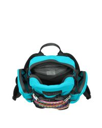 DSquared² - Blue Akira Small Turquoise Nylon Backpack for Men - Lyst