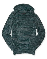Aéropostale | Green Space Dye Pullover Sweater Hoodie for Men | Lyst