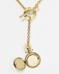 Marc By Marc Jacobs | Metallic Vintage Locket Pendant Necklace 18 | Lyst