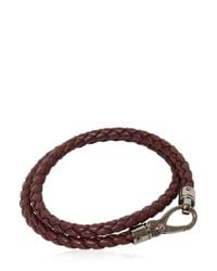 Tod's | Brown My Colors Braided Leather Bracelet for Men | Lyst
