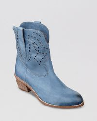 Guess | Blue Western Boots Dailie | Lyst