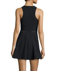 Elizabeth and James - Black Carter Sleeveless Fit-&-flare Dress - Lyst