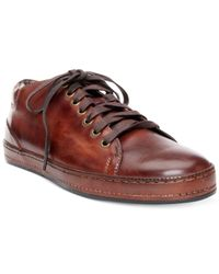Donald J Pliner | Brown Jagar Fashion Athletic Shoes for Men | Lyst