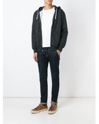 Polo Ralph Lauren - Gray Zipped Hoodie for Men - Lyst