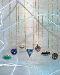 Lana Jewelry - Blue Splash Rose-Cut Lapis Pendant Necklace - Lyst