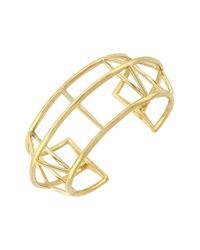 Vince Camuto | Metallic 'orbital' Geometric Cuff Bracelet | Lyst