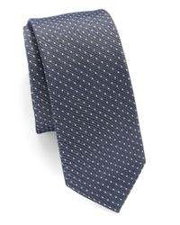 Original Penguin - Blue Microdot Tie for Men - Lyst