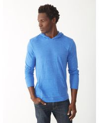 Alternative Apparel - Blue Marathon Eco-jersey Pullover Hoodie for Men - Lyst