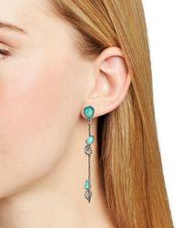 Alexis Bittar | Metallic Vine Link Drop Earrings | Lyst
