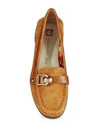 Anne Klein | Brown Cragen Loafers | Lyst