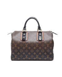 Louis Vuitton - Brown Preowned Monogram Mirage Speedy 30 Bag - Lyst