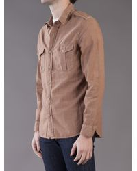 Dockers | Red K1 Military Shirt for Men | Lyst