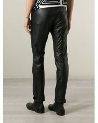 Diesel Black Gold - Black 'Willy' Trousers for Men - Lyst