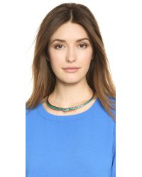 Aurelie Bidermann | Blue Choker Necklace - Gold | Lyst