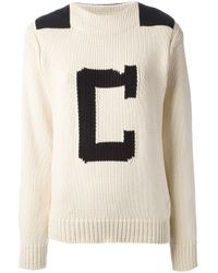 Chloé | Natural Logo Sweater | Lyst