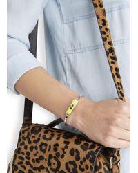 Marc By Marc Jacobs - Carry Forward Yellow Turn-lock Enamel Bracelet - Lyst