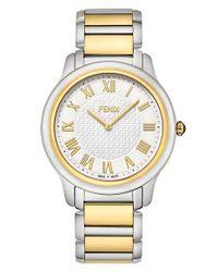 Fendi - Metallic 'classico' Round Bracelet Watch - Lyst