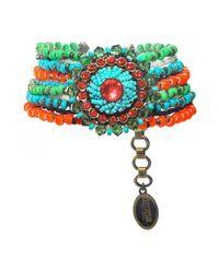 Miranda Konstantinidou Chez Carré Y. | Multicolor Glamour D'afrique Bracelet | Lyst