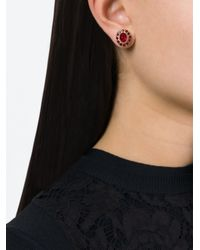 Givenchy - Metallic Gemstone Earrings - Lyst