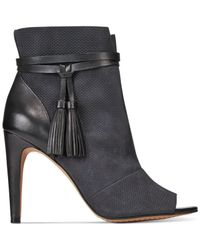French Connection | Black Quinby Booties | Lyst