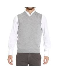 Just Cavalli - Gray Sweater for Men - Lyst