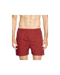 Pink Pony - Red Woven Boxers, Pack Of 3 for Men - Lyst