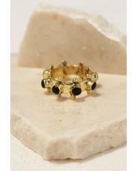 Forever 21 - Metallic Emerald Duv Indica Ring - Lyst