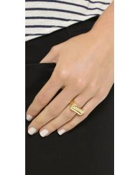 Snash Jewelry - Metallic Guacamole Ring - Gold - Lyst
