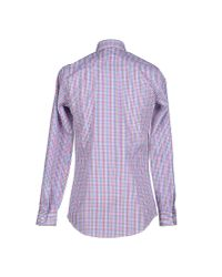 DSquared² - Pink Shirt for Men - Lyst