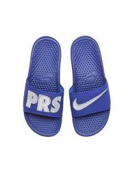 Nike - Blue Wmns Benassi - Lyst