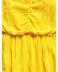 Free People - Vintage Yellow Jumpsuit - Lyst