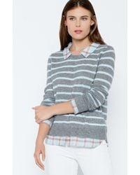 Joie Gray Rika F Twofer Sweater